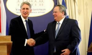 Κυπριακό, ISIS, μεταναστευτικό στη συνάντηση Κοτζιά - Χάμοντ