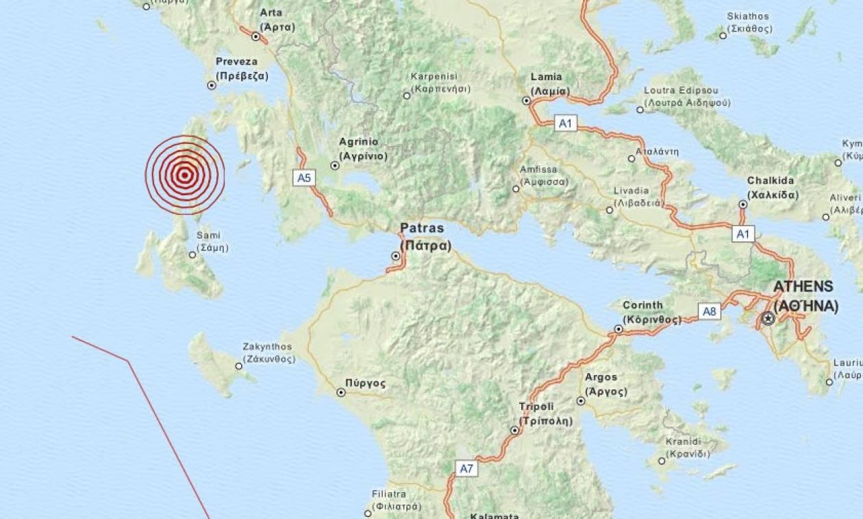 Σεισμός 3,3 Ρίχτερ στη Λευκάδα (pics)