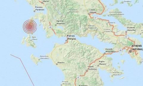 На острове Лефкада произошло землетрясение