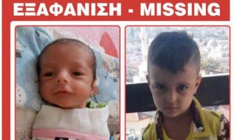 Amber Alert: Συναγερμός για βρέφος έξι μηνών και αγόρι 6 ετών
