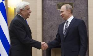 Πούτιν προς Παυλόπουλο: Η Ρωσία έχει ιστορικούς δεσμούς με την Ελλάδα (photos)