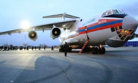 Διανομή ανθρωπιστικής βοήθειας από τη Ρωσία στη Συρία
