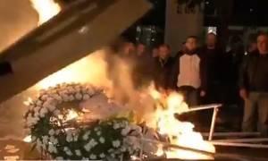 Οι οικοδόμοι «κήδεψαν» το ασφαλιστικό σε Αθήνα και Θεσσαλονίκη (vid)