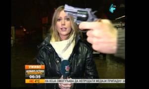 Σερβία: Χέρι με… όπλο βγήκε στον αέρα καιρικού δελτίου! (video)