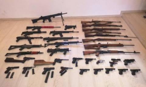 Κρήτη: Την Δευτέρα (18/1) στον ανακριτή οι τρεις κατηγορούμενοι για το «οπλοστάσιο»