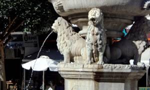 Ηράκλειο: Νερό ξανά στα Λιοντάρια μετά από 10 χρόνια!