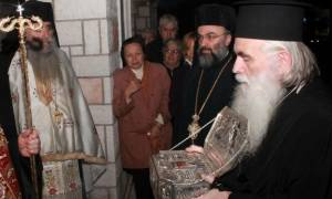 Μέχρι σήμερα (17/1) το λείψανο του Αγίου Λουκά στο Γαλάτσι