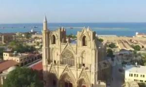 Νοσταλγικό «ταξίδι» στην παλιά πόλη της Αμμοχώστου - Πλάνα από drone (video)