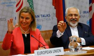 Μογκερίνι και Ζαρίφ: Η διεθνής κοινότητα ήρε τις κυρώσεις κατά του Ιράν