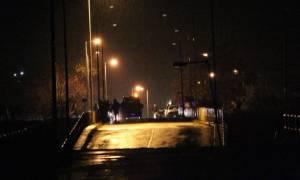 Κατέρρευσε η γέφυρα του Πηνειού στη Διάβα Καλαμπάκας (photo - video)