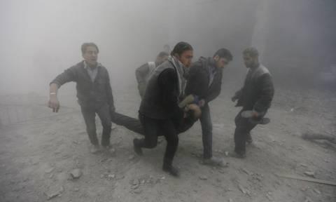 Συρία: 40 νεκροί, εκ των οποίων 8 παιδιά, σε αεροπορικές επιδρομές στη Ράκα