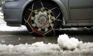 Θεσσαλονίκη: Προβλήματα από τις χιονοπτώσεις - Που χρειάζονται αντιολισθητικές αλυσίδες