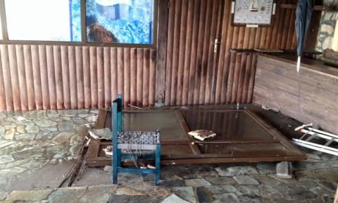 Εγκλωβίστηκαν Ι.Χ. στην Κομοτηνή - Πλημμύρισαν σπίτια, δρόμοι και αυλές