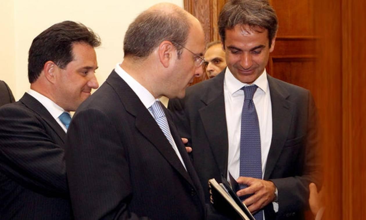 Χατζηδάκης και Γεωργιάδης οι νέοι αντιπρόεδροι στη ΝΔ