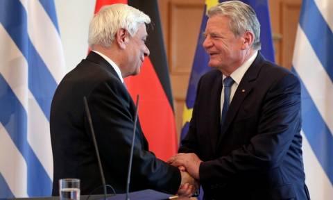 Παυλόπουλος: Η Ελλάδα βλέπει τη Γερμανία ως φίλη χώρα