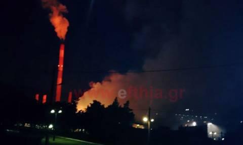 Έκρηξη με τραυματίες στο εργοστάσιο της ΛΑΡΚΟ