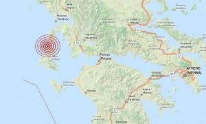 Σεισμός 3,6 Ρίχτερ μεταξύ Λευκάδας και Κεφαλονιάς