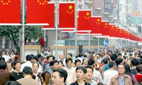 Στο κατώτατο επίπεδο 25 ετών η οικονομική ανάπτυξη στην Κίνα