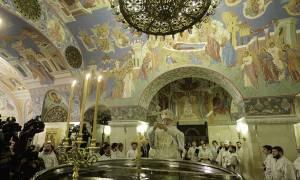 Ακολουθία του Μεγάλου Αγιασμού από τον Πατριάρχη Μόσχας