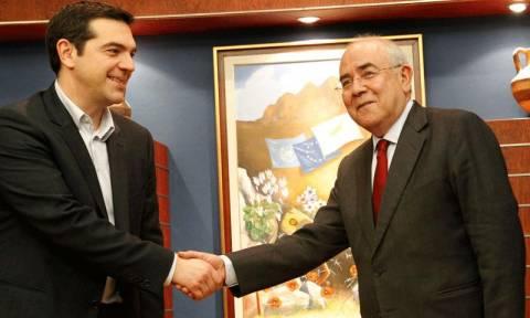 Τετ-α-τετ Τσίπρα με τον πρόεδρο της κυπριακής Βουλής