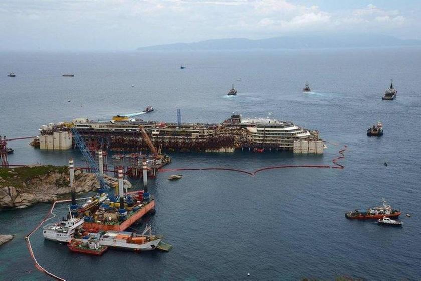 Costa Concordia: Δείτε πώς είναι το εσωτερικό του πλοίου – Νέες φωτογραφίες