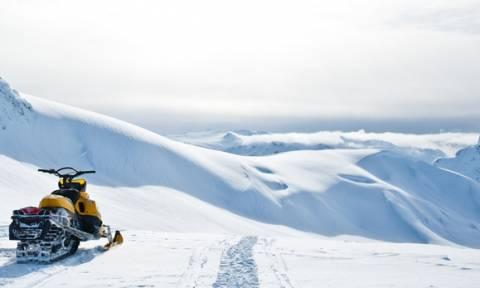 Σοκ στο Μέτσοβο: 25χρονος σκοτώθηκε την ώρα που έκανε snowmobile