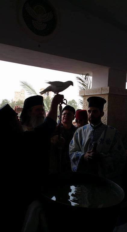 Θεοφάνεια στον τόπο της βάφτισης του θεανθρώπου στο Ισραήλ (pics)