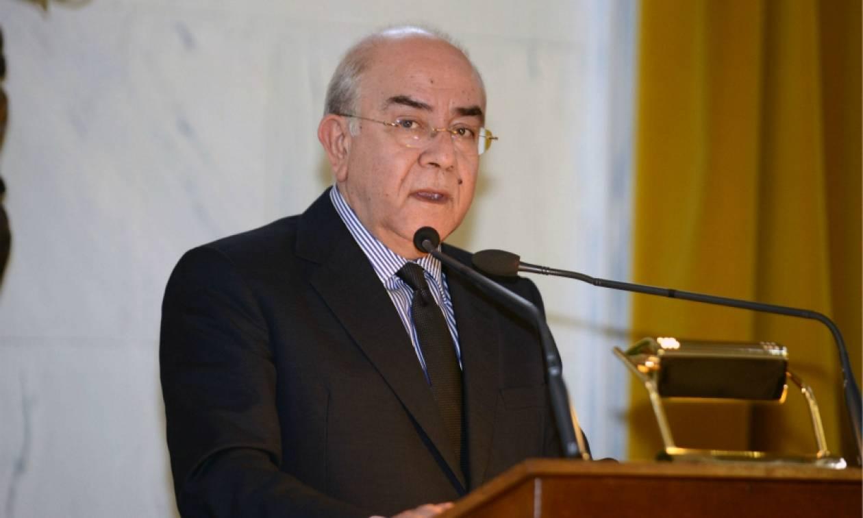 Τετ-α-τετ Μητσοτάκη με τον πρόεδρο της κυπριακής Βουλής