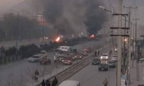 Καμπούλ: Επίθεση καμικάζι έξω από τη ρωσική πρεσβεία (pics+vid)