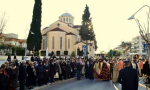 Η Καλαμαριά υποδέχθηκε την Κάρα του Οσίου Γεωργίου του Καρσλίδη