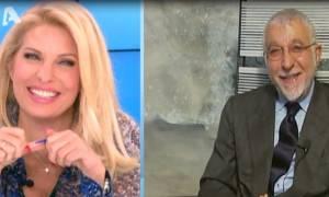 Η ατάκα του γιατρού για τη σεξουαλική ζωή της Ελένης και η απίστευτη απάντησή της on air!