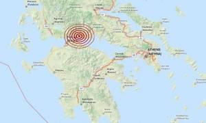Σεισμός 3,7 Ρίχτερ βόρεια του Αιγίου