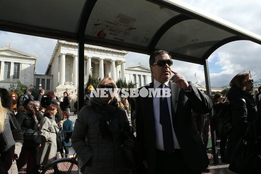 Μαζικό συλλαλητήριο στο κέντρο της Αθήνας κατά του Ασφαλιστικού (photos)