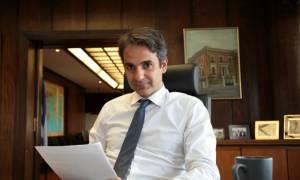 Τη Δευτέρα η επίσκεψη του Κ. Μητσοτάκη στην Κύπρο