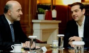Μοσκοβισί: Ανάγκη μεταρρύθμισης του συνταξιοδοτικού και υλοποίησης του Ταμείου ιδιωτικοποιήσης