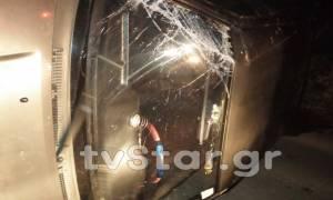 Μυστήριο τροχαίο στην Λαμία: Τούμπαρε το αυτοκίνητο και εξαφανίστηκε (pics)