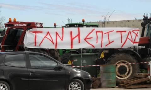 Κλειστή η Εθνική οδός Αντιρρίου - Ιωαννίνων από αγρότες
