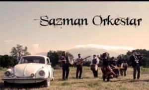 Η Sazman Orkestar live στο six d.o.g.s