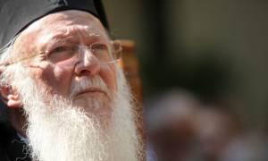 Βαρθολομαίος :Τυχόν αναβολή της Πανορθόδοξης μόνο τους εχθρούς της Εκκλησίας θα ικανοποιήσει
