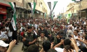 Συρία - αντιπολίτευση: Οι ΗΠΑ μας πιέζουν να συμμετάσχουμε στις ειρηνευτικές συνομιλίες της Γενεύης