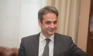 Κύπρος: Ο πρόεδρος του ΔΗΣΥ παρέθεσε δείπνο στον πρόεδρο της ΝΔ Κυριάκο Μητσοτάκη