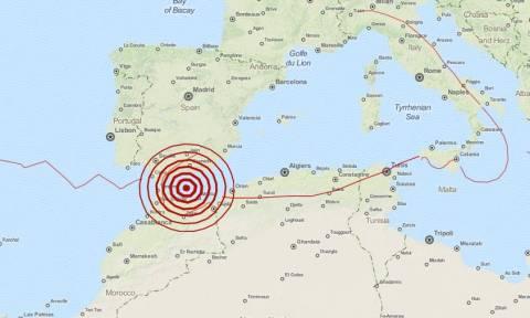 Ισχυρός σεισμός 6,2 Ρίχτερ στο στενό του Γιβραλτάρ