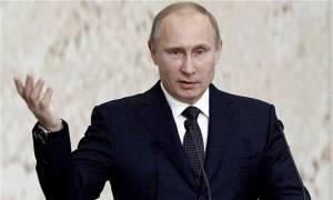 Πούτιν: «Βοηθάμε απλώς τη Συρία να αφανίσει τους τρομοκράτες»
