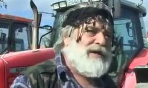 Το συγκλονιστικό μήνυμα ενός αγρότη: «Έλληνα, ξύπνα» (video)