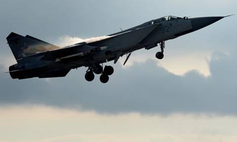 Συντριβή ρωσικού μαχητικού αεροσκάφους στη Σιβηρία