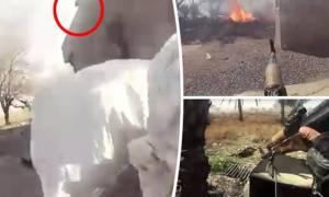 Ο θάνατος μέσα από τα μάτια ενός τζιχαντιστή – Οι τελευταίες στιγμές της ζωής του (σκληρό βίντεο)
