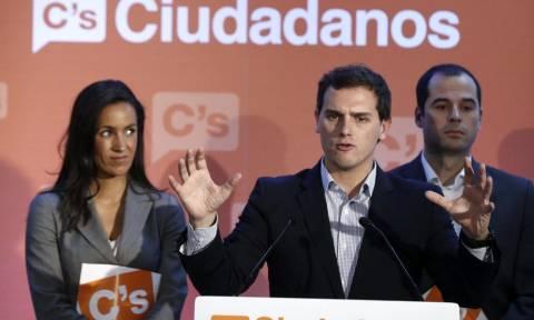 Ισπανία: Το Ciudadanos δεν θα στηρίξει μια κυβέρνηση στην οποία θα μετέχει το Podemos