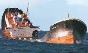 Ισπανία: Κάθειρξη δύο ετών στον Έλληνα πλοίαρχο του Prestige