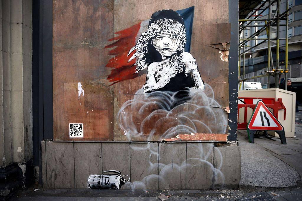 Δείτε το νέο πρωτοποριακό έργο του Banksy στο Λονδίνο - Τι το κάνει τόσο ξεχωριστό (video)