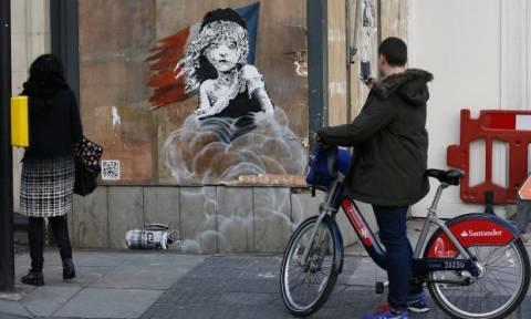 Το νέο πρωτοποριακό έργο του Banksy στο Λονδίνο - Τι το κάνει τόσο ξεχωριστό (video)